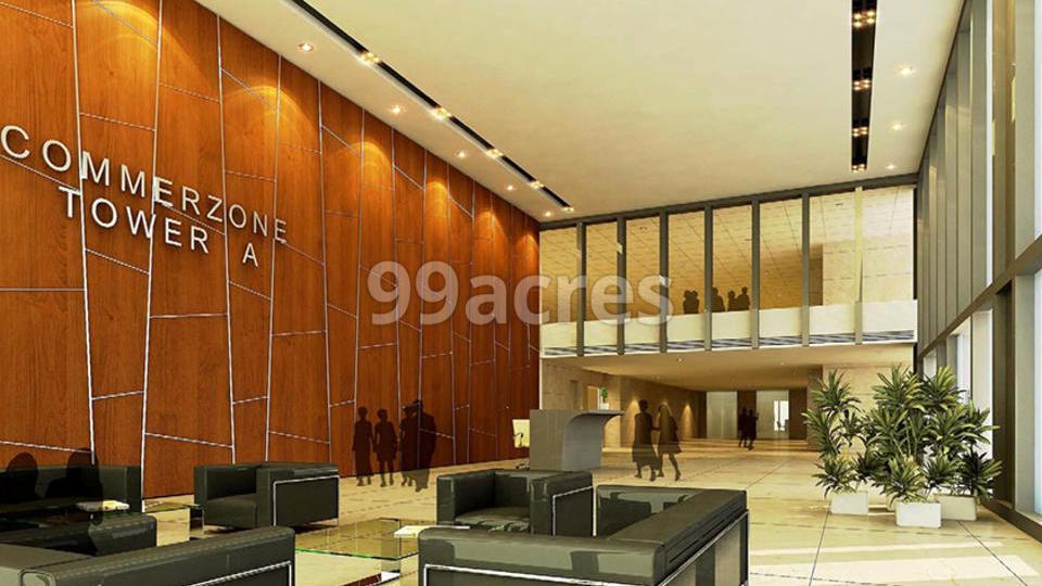 K Raheja Commerzone Reception Area