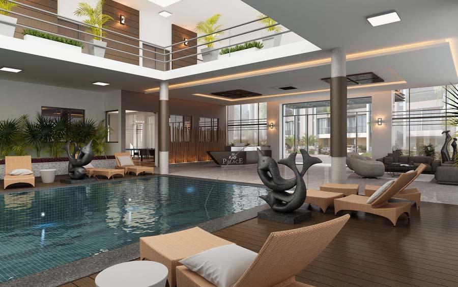 Kalp Palace Swimming Pool