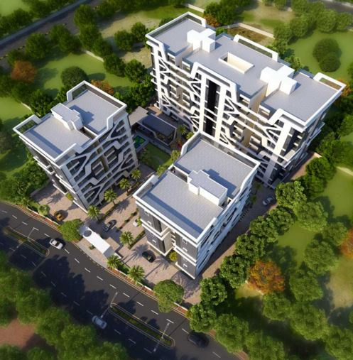 Kalp Pavitra Artistic Aerial View