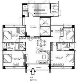 4 BHK Apartment in