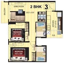 2 BHK Apartment in Kanakia Levels