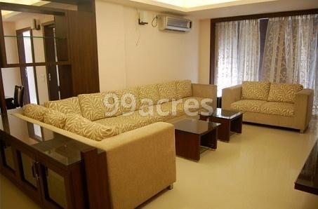 Kashish Sail City Sample Living Room