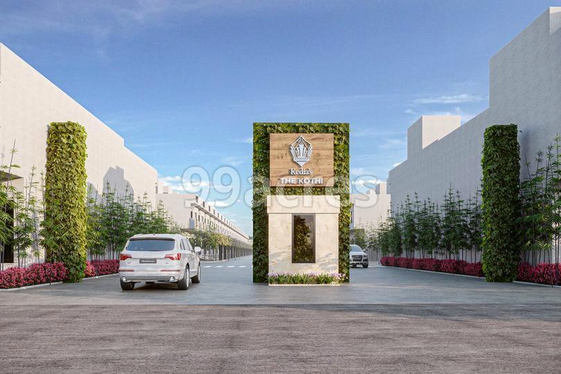 Kedias The Kothi Entrance