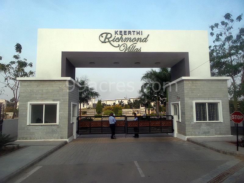 Keerthi Richmond Villas in Sun City, Hyderabad