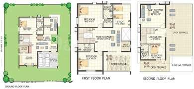 Keerthi Richmond Villas - 4BHK+4T+Pooja+Study(7), Super Area: 4016 sq ft, Villa