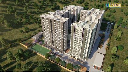 ITrend Homes Aerial View