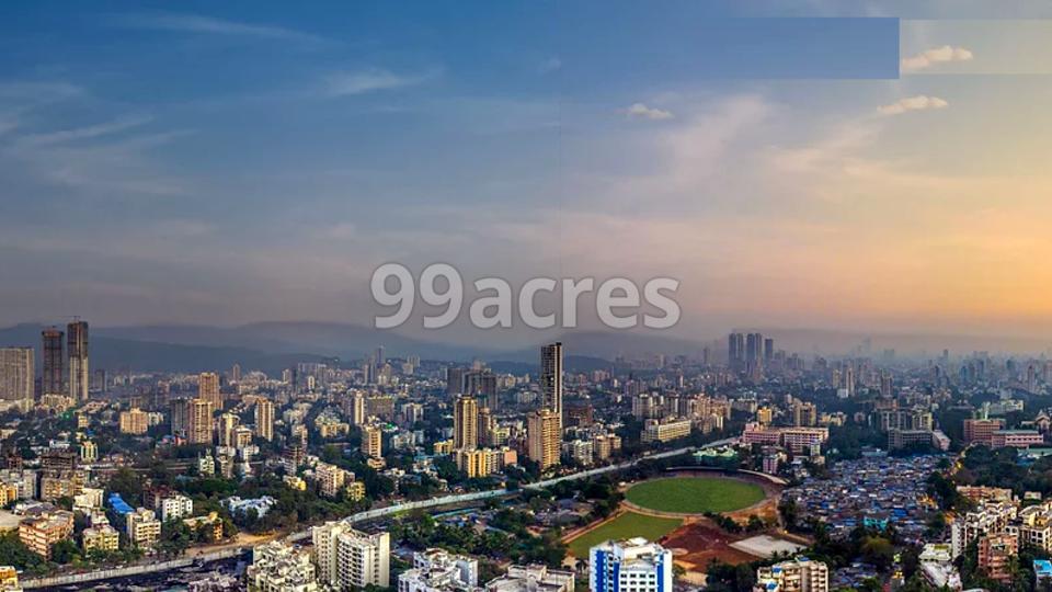 Kolte Patil Vaayu Aerial View