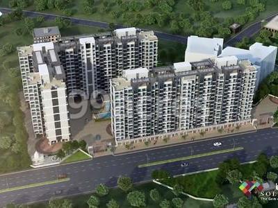 Konark Realties JV and Maruti Constructions Konark Solitaire Kalyan (West), Mumbai Beyond Thane