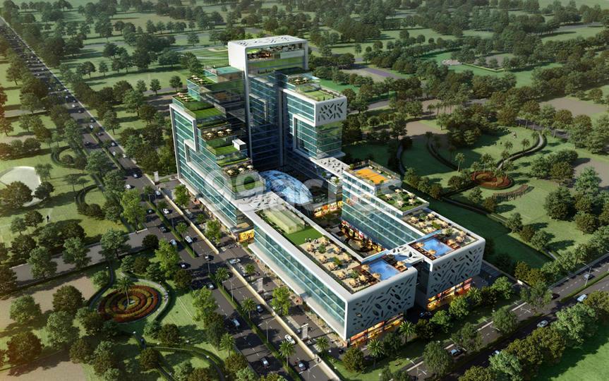 Krasa Centrade Business Park Aerial View