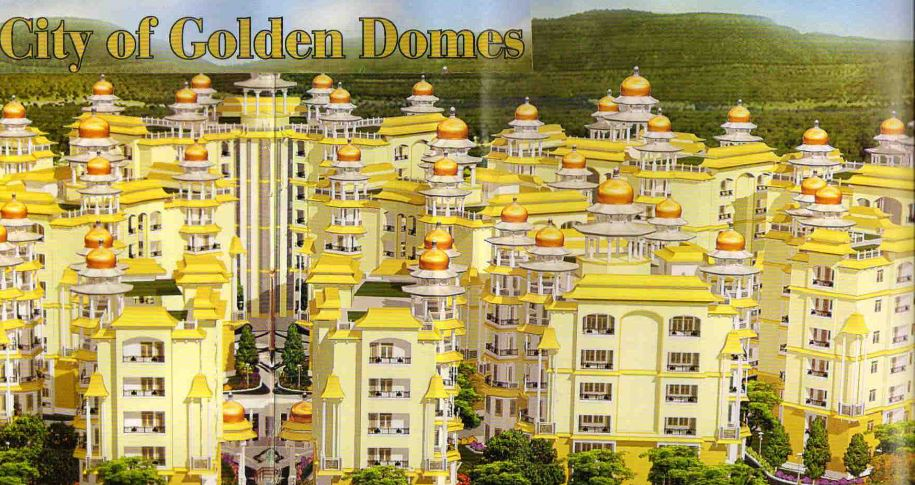 City Of Golden Domes Elevation