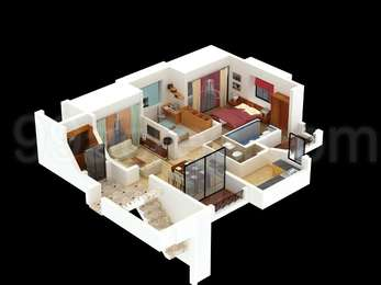 2 BHK Apartment in Kushe Pratibha Apartments