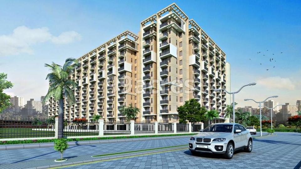 L R Rameshwaram Residency Elevation