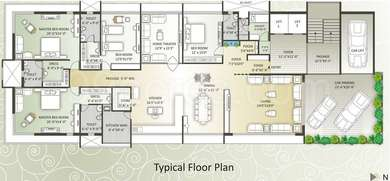 4 BHK Apartment in Ladani Decora Habitat