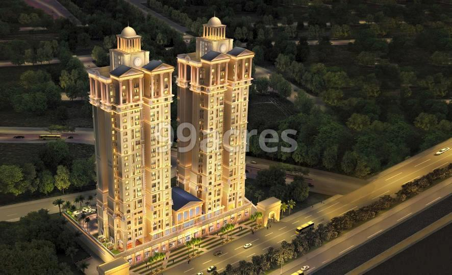 Lakhani Empire Towers Aerial View