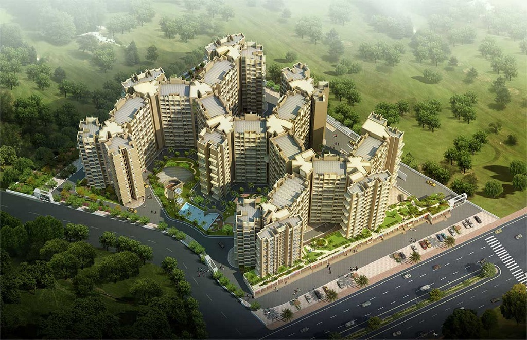 Lakhani Orchid Woods Aerial View