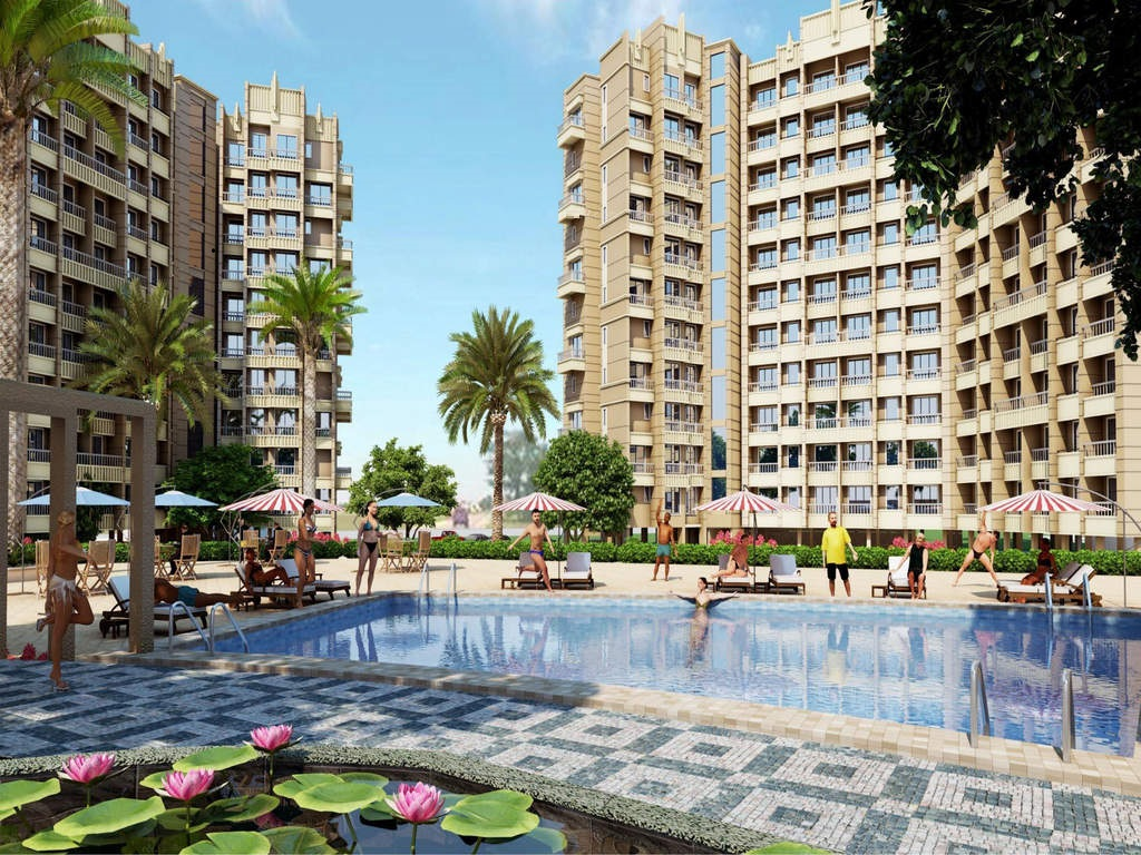 Lakhani Orchid Woods Swimming Pool