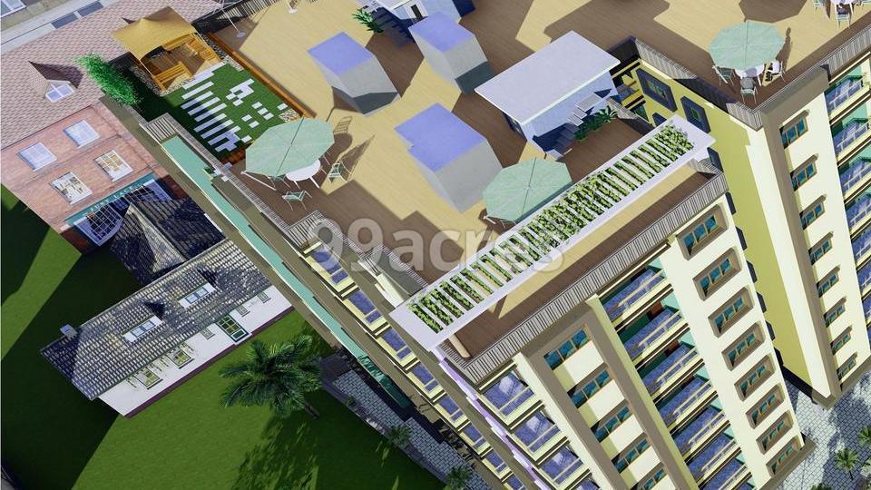 Lakshmi Residency Durgapur Aerial View