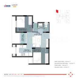 2 BHK Apartment in Lancor Lumina