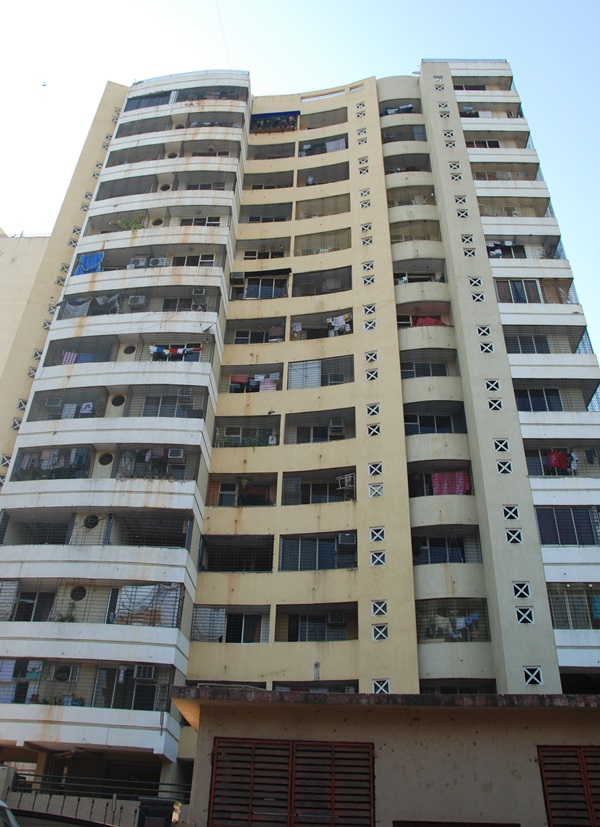 Lashkaria Green Tower Front Elevation 1