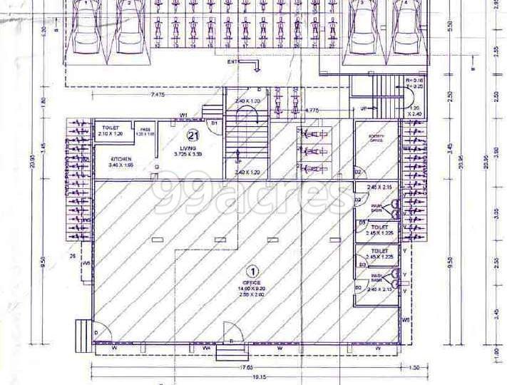 Laxmi Ram Janaki Plaza Typical Floor Plan