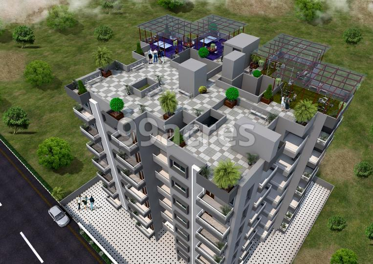 Laxmi Parvati Annex Aerial View