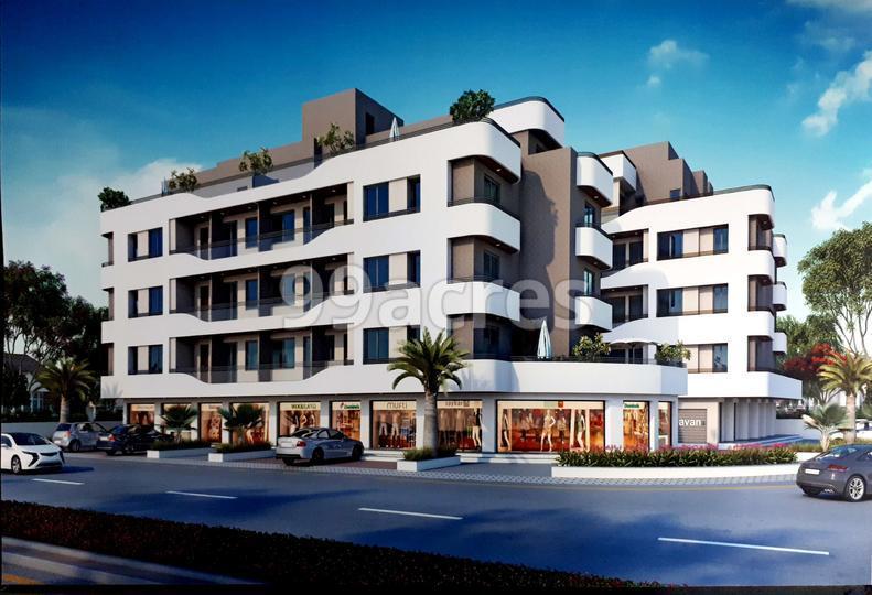 LB Raj Bhavan Residency Artistic Elevation