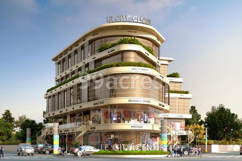 LE City Centre Artistic Elevation