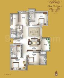 3 BHK Apartment in Legacy Eldora