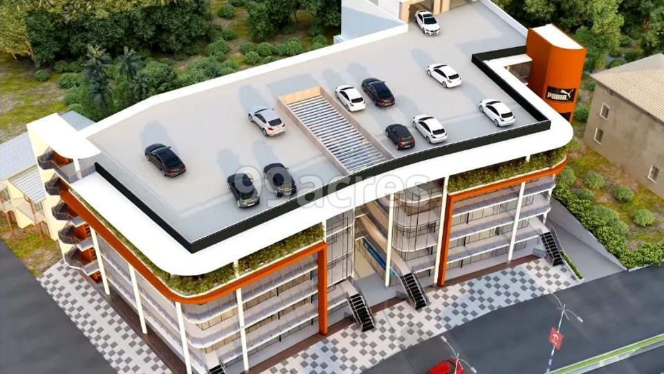 Daliya Arcade Aerial View