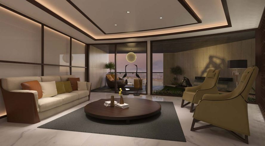 Lilamani Rivervalley One Living Area