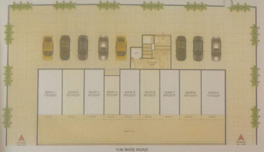 LK Prime Residency Parking Plan
