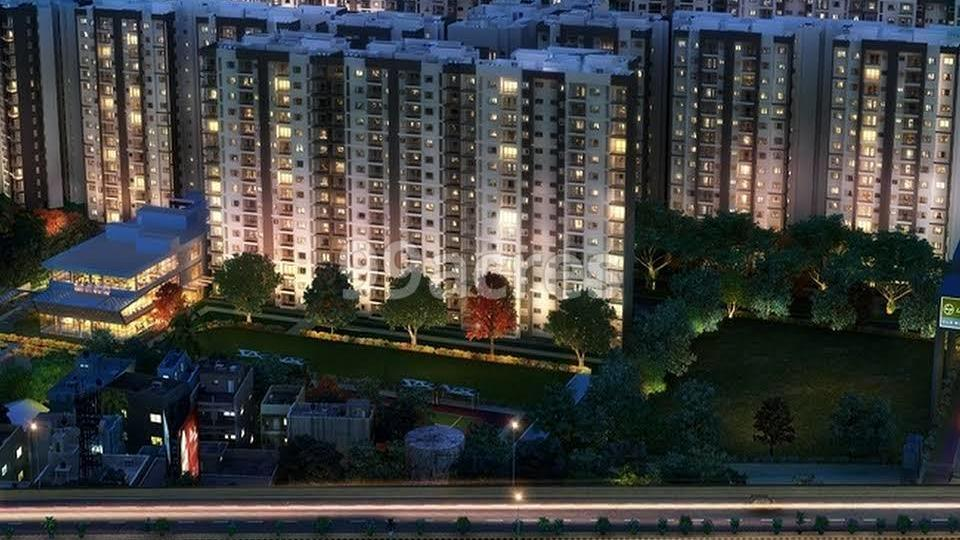 L and T Raintree Boulevard Aerial View