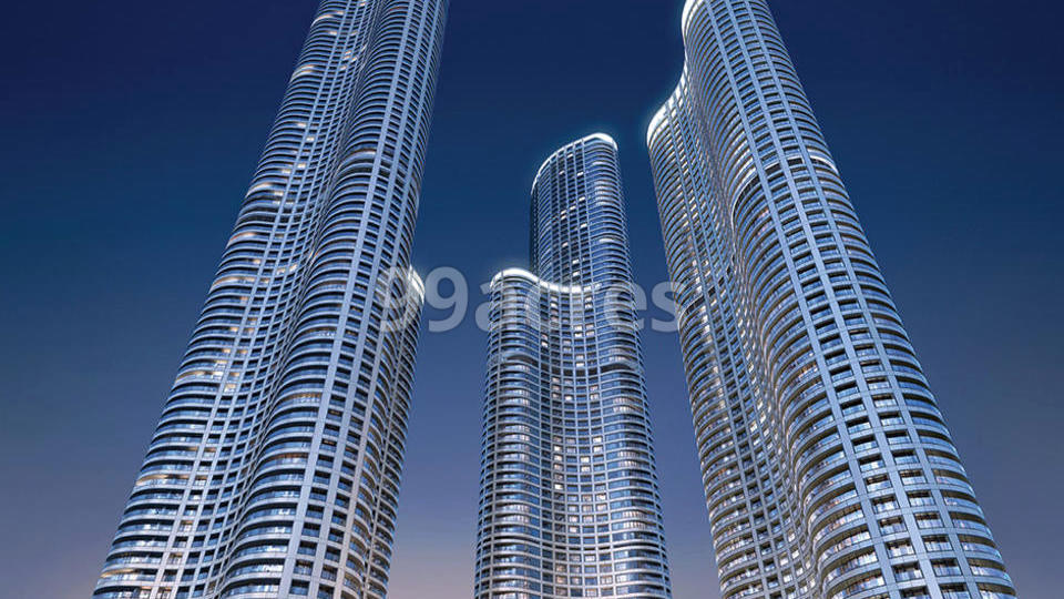 The World Towers Elevation