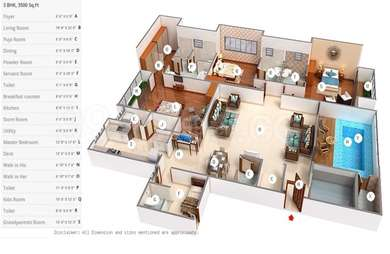 3 BHK Apartment in Lodha Bellezza