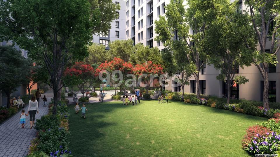 Lodha Crown Landscape Garden