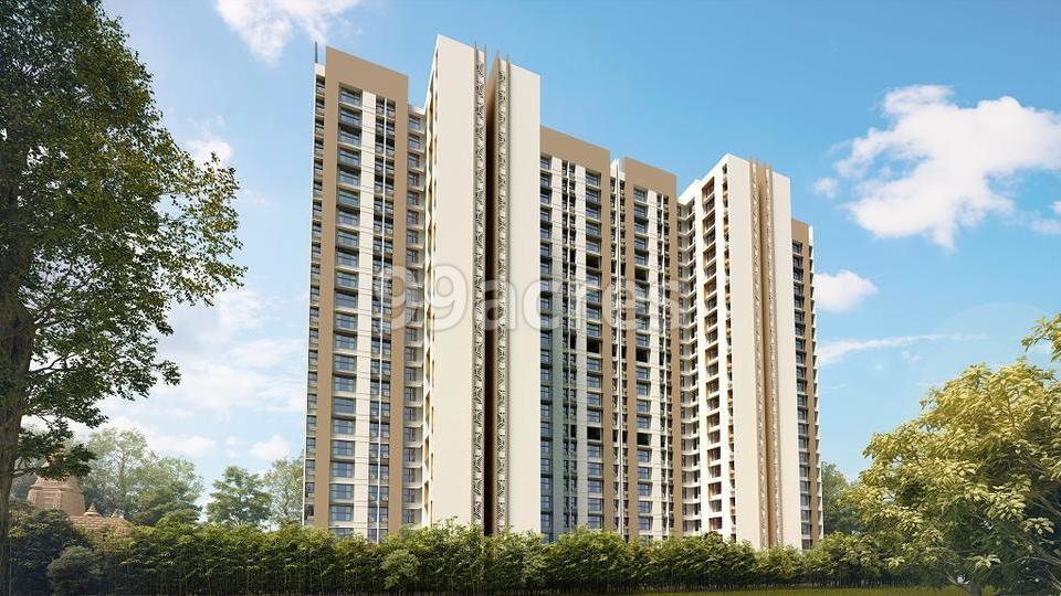 Crown Thane Lodha  Quality Homes Elevation