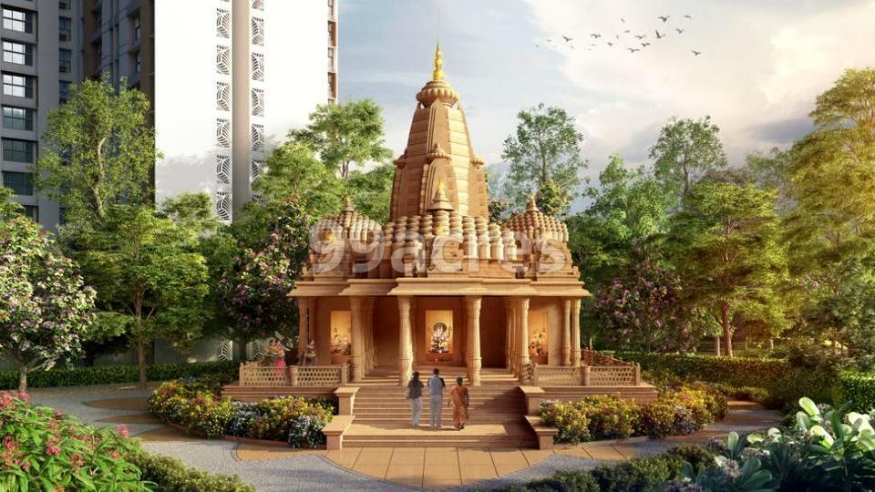 Crown Thane Lodha  Quality Homes Exterior Landscape