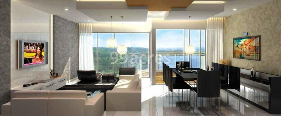 Luxora Crystal Spires Living Room