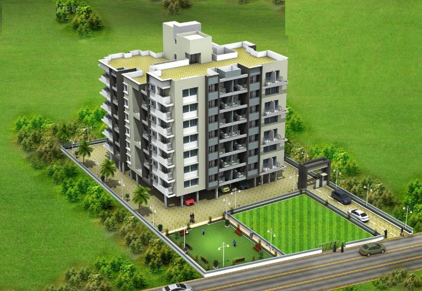 Sai Shraddha Hillside Artistic Elevation