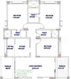3 BHK Apartment in Magarpatta City Trillium