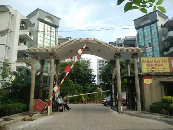Mahagun Manor Entrance