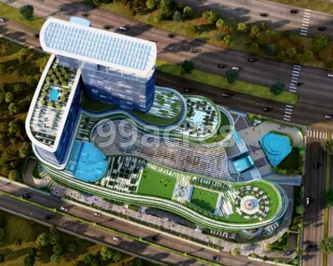 Mahagun Marina Wwalk Mall Aerial View