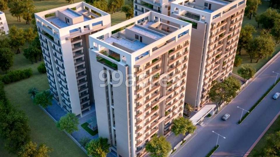 Raadhe Shyaam Harmony Aerial View