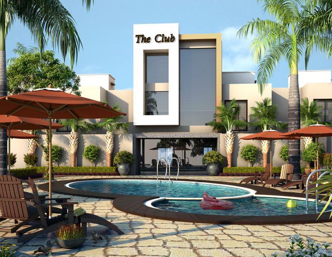 Mahendra Ample Park Artistic Club House