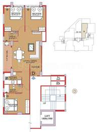 3 BHK Apartment in Windsor Heights