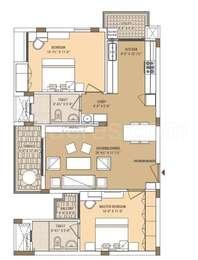 2 BHK Apartment in Mahima Panache