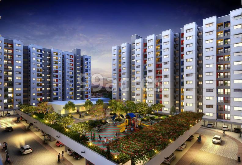 Mahindra Happinest at Mahindra World City Elevation