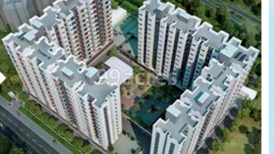 Mahindra World City Aerial View
