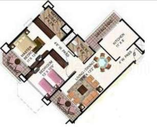 2 BHK Apartment in Mahindra Royale