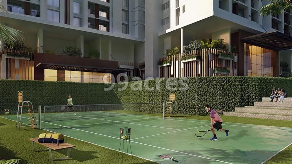 MICL Aaradhya Highpark Lawn Tennis Court